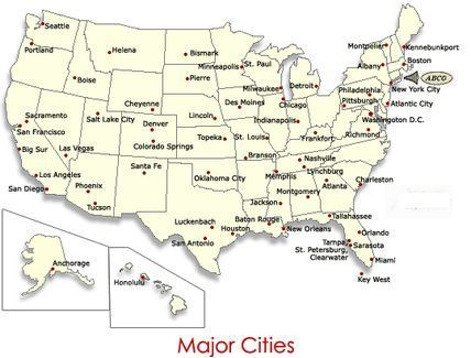 Abco Not Only Serves The New England Area But We Can Ship To All Of The Major Cities Within The United States Below And Surrounding Areas